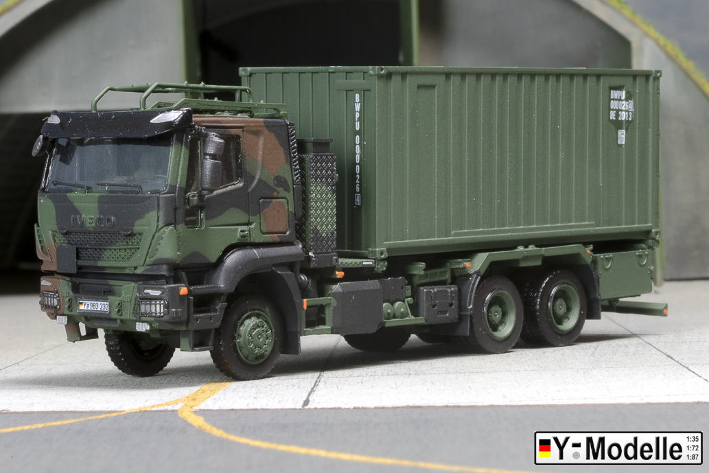 IVECO AT 260W, 6x6, FTA, Containertransporter mit 20FT Container